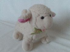 Adorable My 1st Cute Baby 'Lamb' Plush Animal Toy